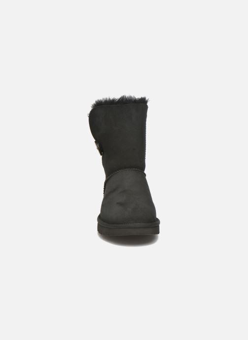 Stiefeletten & Boots UGG W Bailey Button II schwarz schuhe getragen