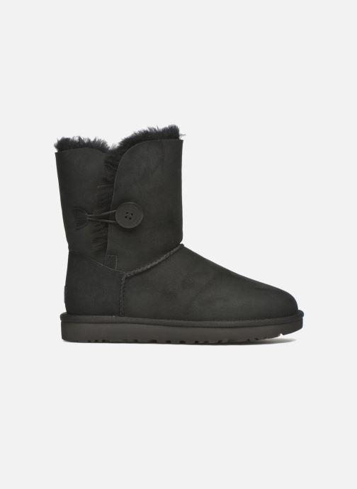 Boots en enkellaarsjes UGG W Bailey Button II Zwart achterkant
