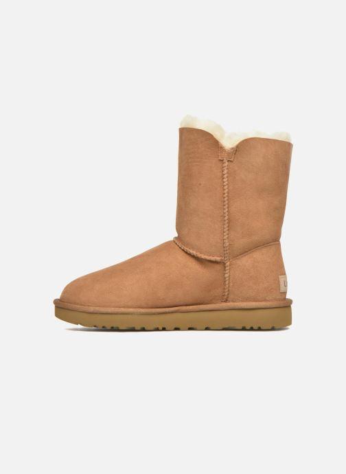 Stiefeletten & Boots UGG W Bailey Button II braun ansicht von vorne