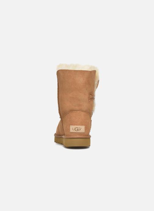 Stiefeletten & Boots UGG W Bailey Button II braun ansicht von rechts