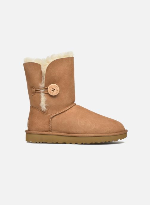 Stiefeletten & Boots UGG W Bailey Button II braun ansicht von hinten