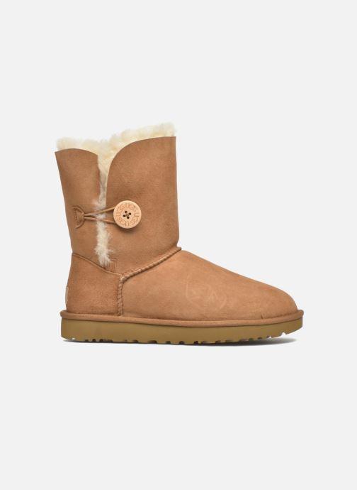 Boots en enkellaarsjes UGG W Bailey Button II Bruin achterkant