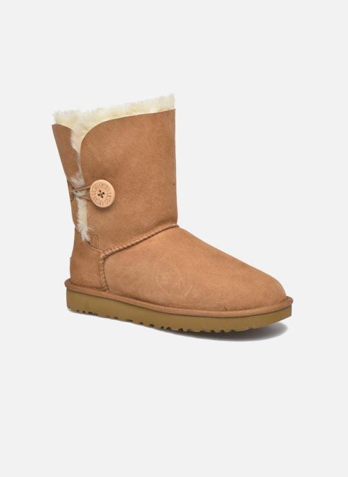 Boots en enkellaarsjes UGG W Bailey Button II Bruin detail
