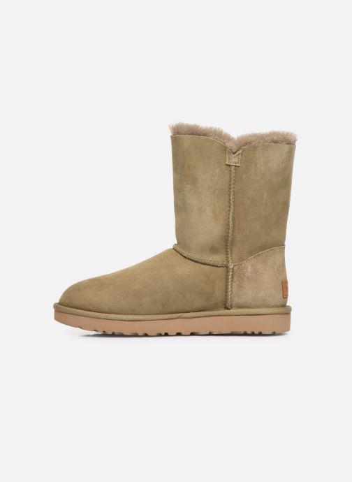 Boots en enkellaarsjes UGG W Bailey Button II Beige voorkant