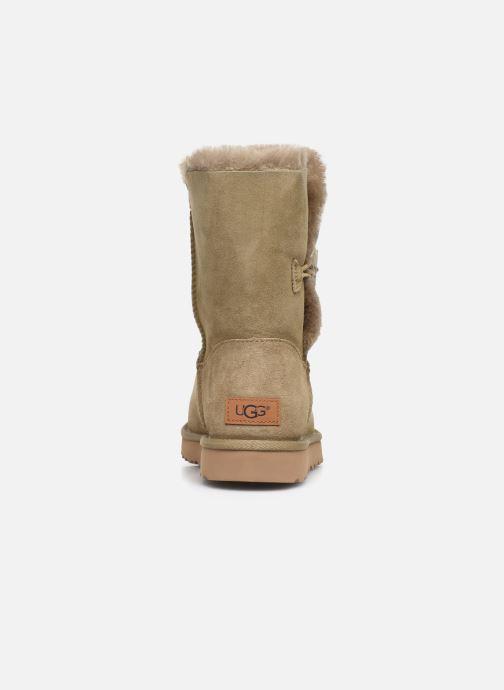 Bottines et boots UGG W Bailey Button II Beige vue droite