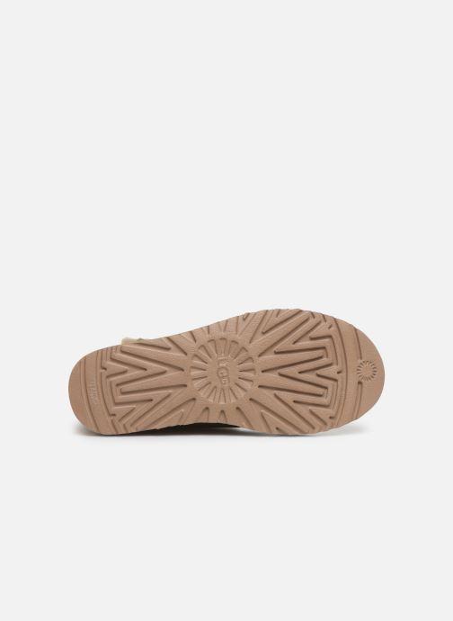 Boots en enkellaarsjes UGG W Bailey Button II Beige boven