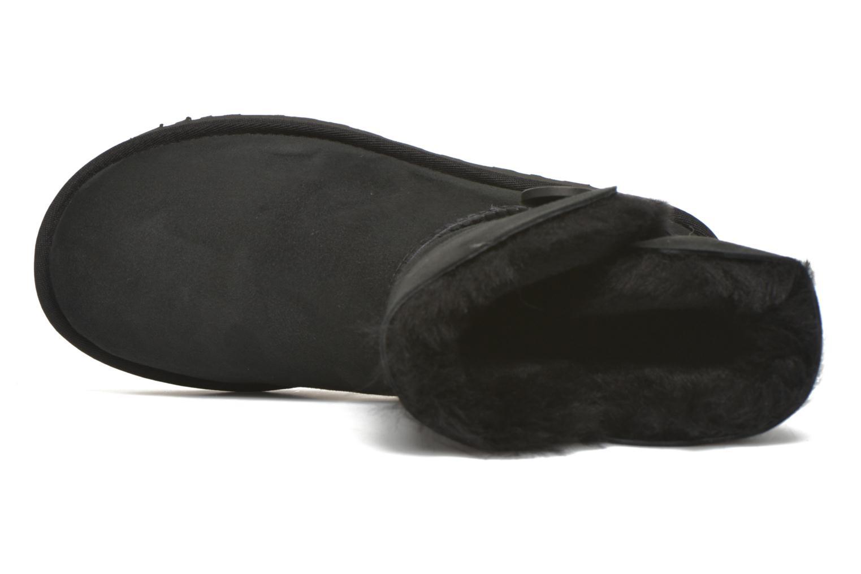Bottines et boots UGG W Bailey Button II Noir vue gauche