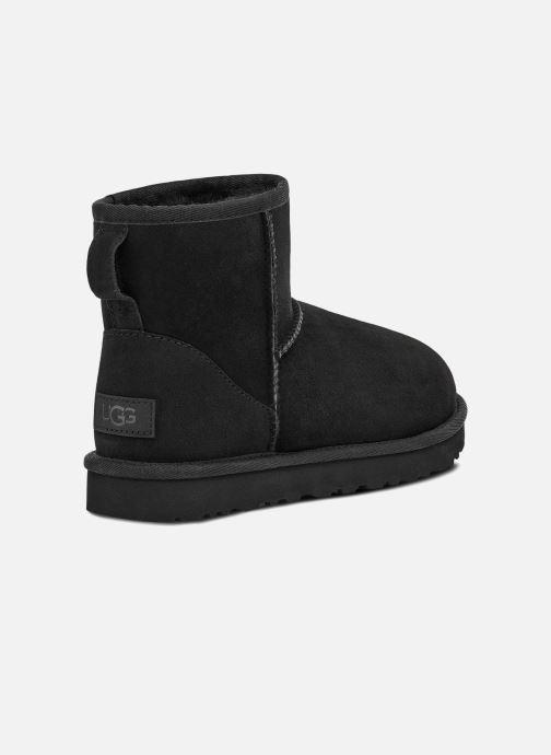Bottines et boots UGG W Classic Mini II Noir vue portées chaussures