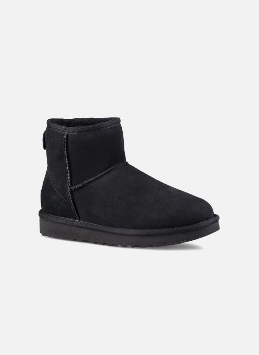 Boots en enkellaarsjes UGG W Classic Mini II Zwart detail