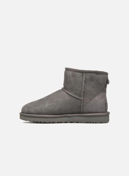 Stiefeletten & Boots UGG W Classic Mini II grau ansicht von vorne