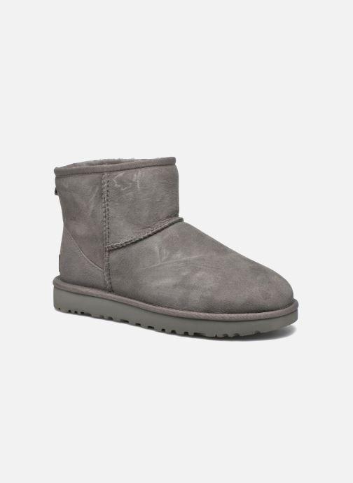 f0df5ab51d055f UGG W Classic Mini II (Grijs) - Boots en enkellaarsjes chez Sarenza ...