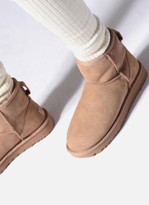 Boots en enkellaarsjes UGG W Classic Mini II Blauw onder