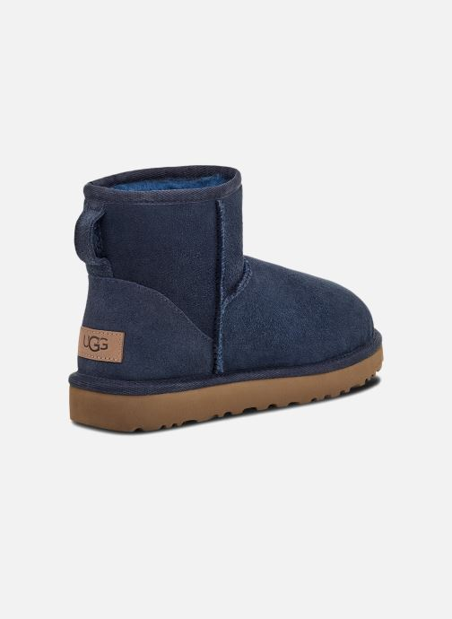 Bottines et boots UGG W Classic Mini II Bleu vue portées chaussures