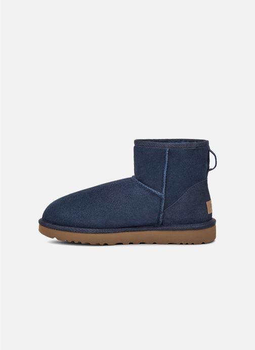 Bottines et boots UGG W Classic Mini II Bleu vue face