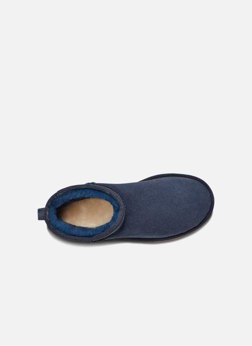 Bottines et boots UGG W Classic Mini II Bleu vue derrière