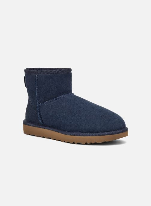 Boots en enkellaarsjes UGG W Classic Mini II Blauw detail