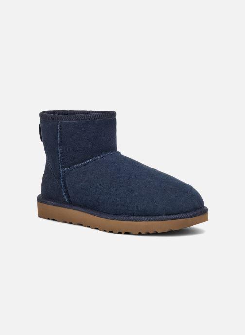 Bottines et boots UGG W Classic Mini II Bleu vue détail/paire