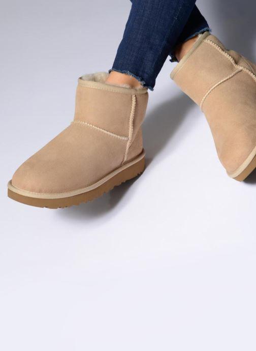 Boots en enkellaarsjes UGG W Classic Mini II Bruin onder