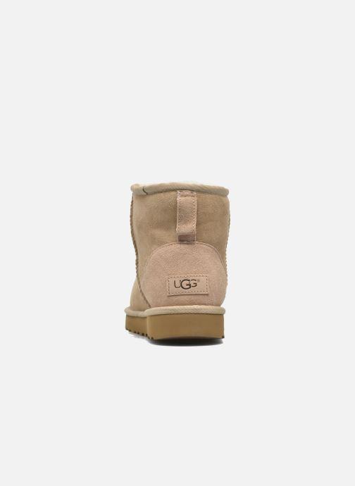 Boots en enkellaarsjes UGG W Classic Mini II Bruin rechts
