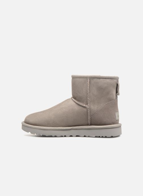 Bottines et boots UGG W Classic Mini II Gris vue face