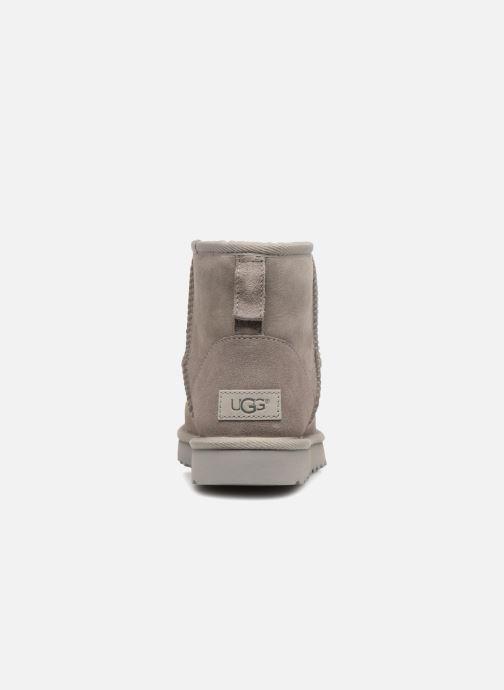 Bottines et boots UGG W Classic Mini II Gris vue droite