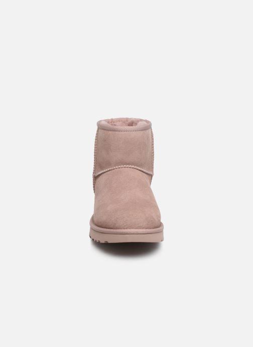 Boots en enkellaarsjes UGG W Classic Mini II Roze model