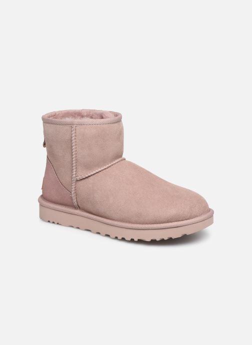 Boots en enkellaarsjes UGG W Classic Mini II Roze detail