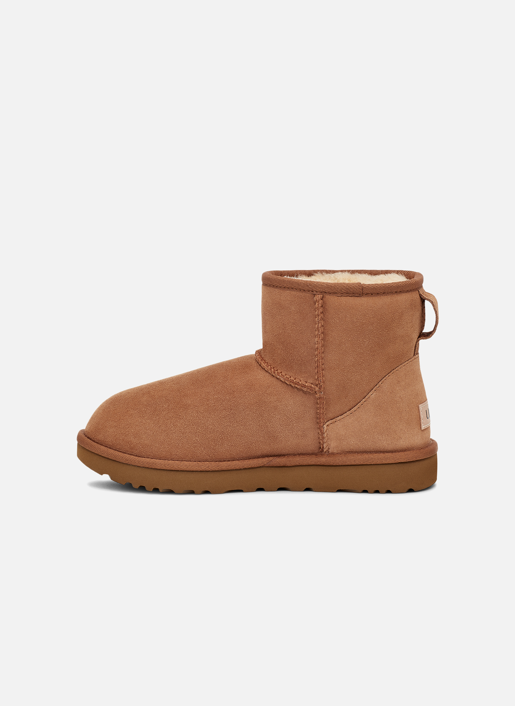 Bottines et boots UGG W Classic Mini II Marron vue face