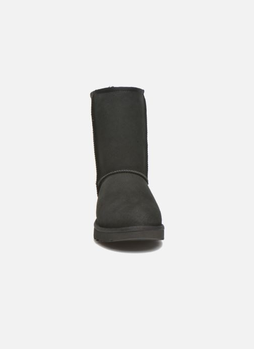 Stiefeletten & Boots UGG W Classic Short II schwarz schuhe getragen