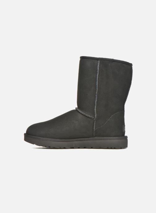 Boots en enkellaarsjes UGG W Classic Short II Zwart voorkant