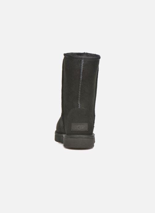 Boots en enkellaarsjes UGG W Classic Short II Zwart rechts