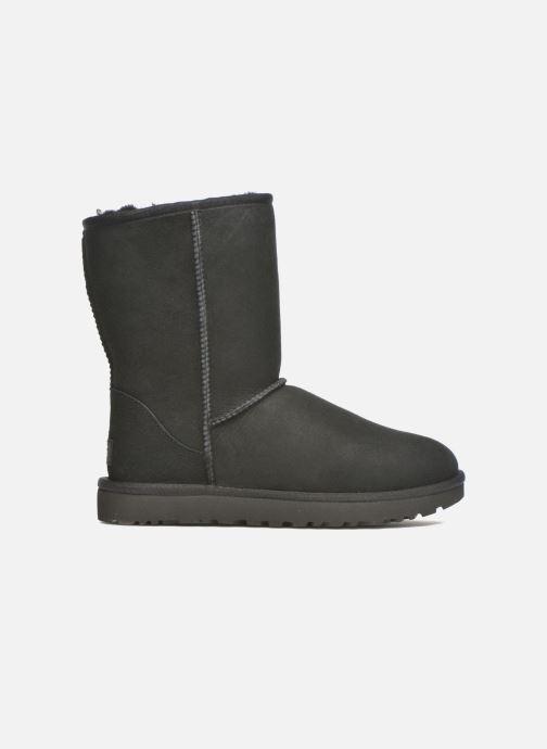 Boots en enkellaarsjes UGG W Classic Short II Zwart achterkant