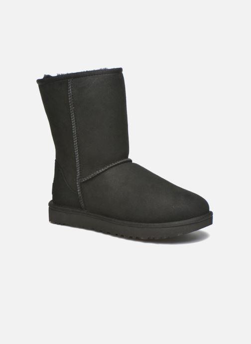 Boots en enkellaarsjes UGG W Classic Short II Zwart detail