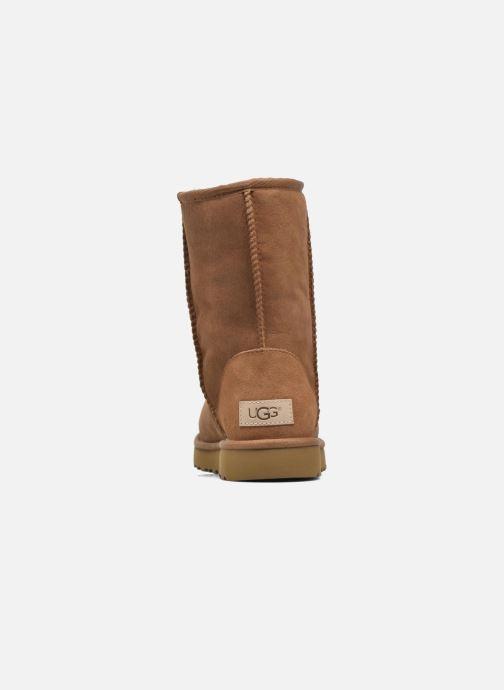 Bottines et boots UGG W Classic Short II Marron vue droite