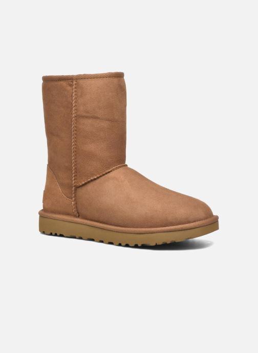 Bottines et boots UGG W Classic Short II Marron vue détail/paire
