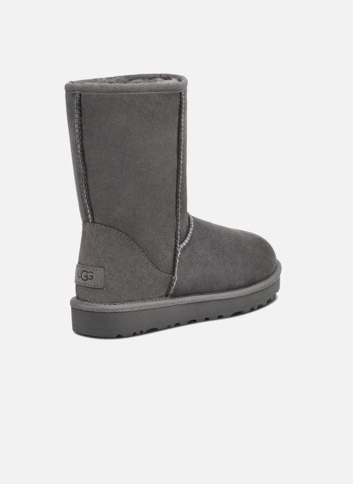 Stiefeletten & Boots UGG W Classic Short II grau schuhe getragen