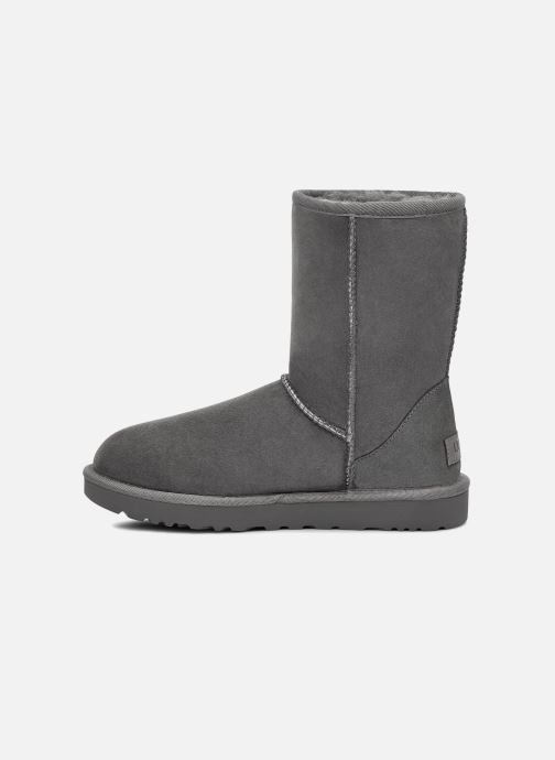 Stiefeletten & Boots UGG W Classic Short II grau ansicht von vorne