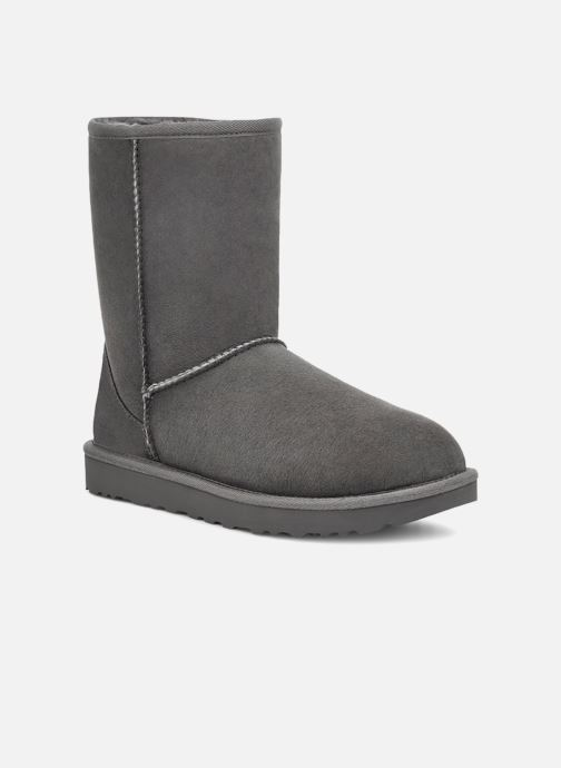 Bottines et boots UGG W Classic Short II Gris vue détail/paire