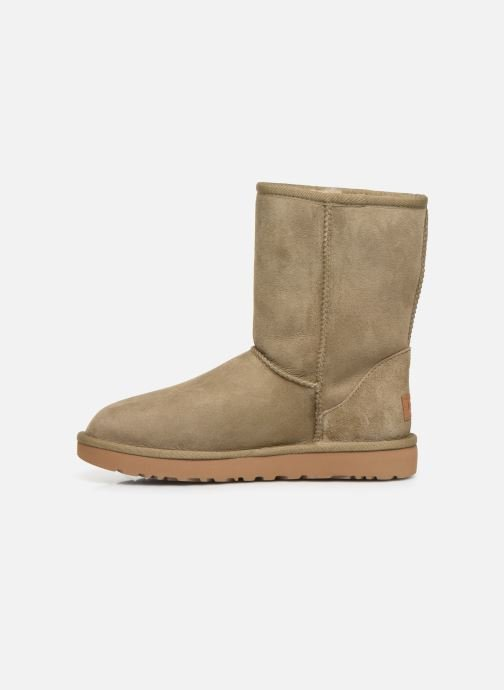 Bottines et boots UGG W Classic Short II Marron vue face