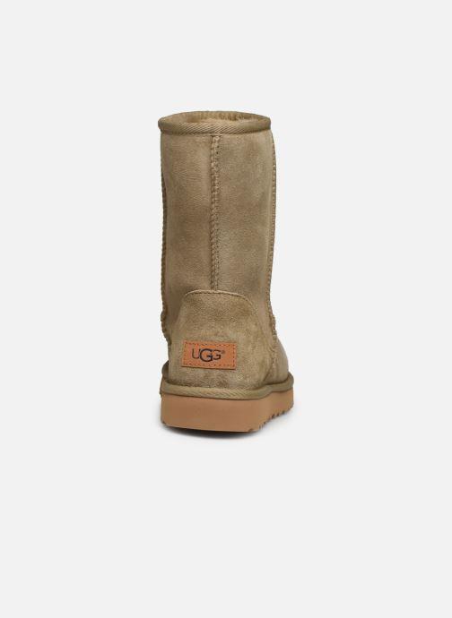 Boots en enkellaarsjes UGG W Classic Short II Bruin rechts
