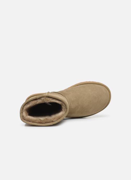 Boots en enkellaarsjes UGG W Classic Short II Bruin links