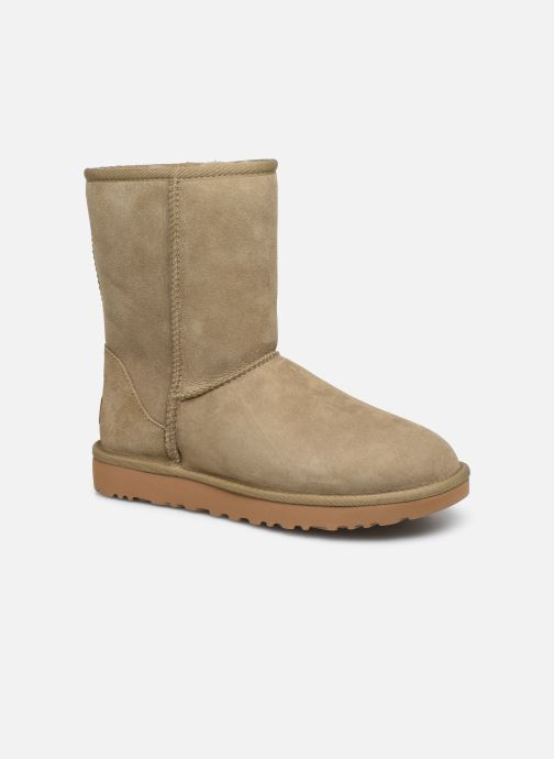 Bottines et boots UGG W Classic Short II Marron vue détail/paire