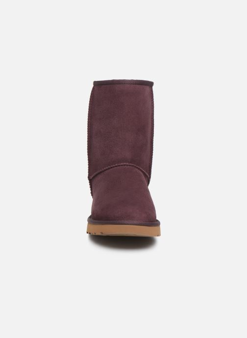 Boots en enkellaarsjes UGG W Classic Short II Bordeaux model