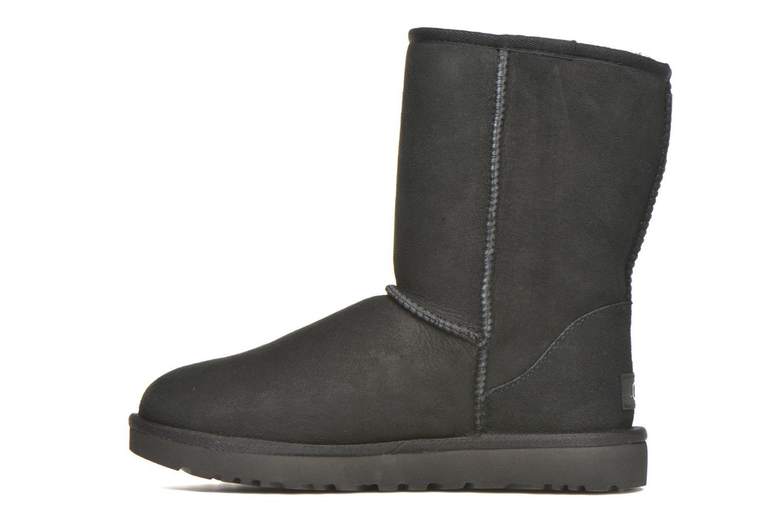 Stiefeletten & Boots UGG W Classic Short II schwarz ansicht von vorne