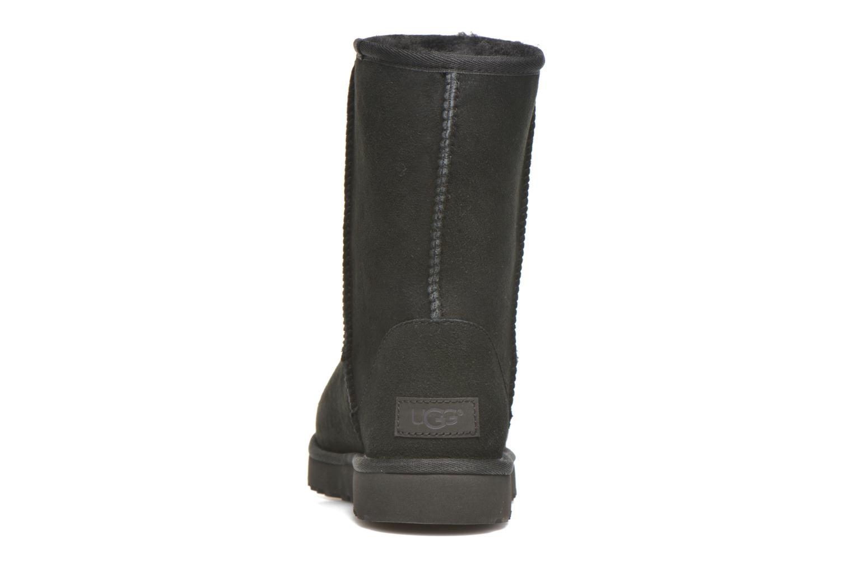 Bottines et boots UGG W Classic Short II Noir vue droite