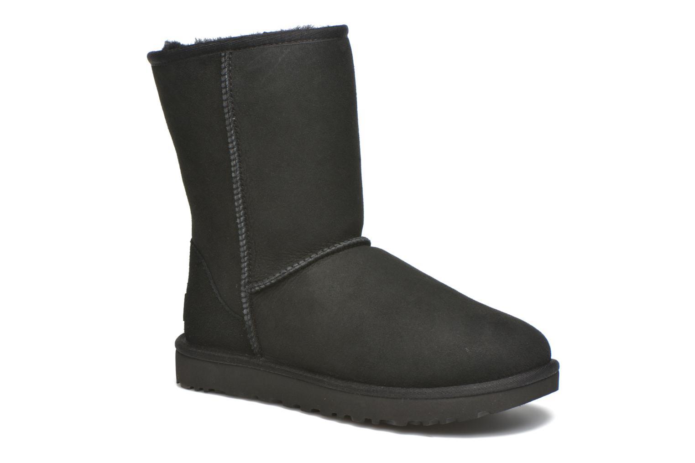 Stiefeletten & Boots UGG W Classic Short II schwarz detaillierte ansicht/modell