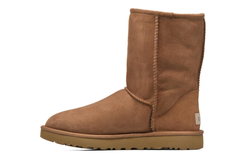 Stiefeletten & Boots UGG W Classic Short II braun ansicht von vorne