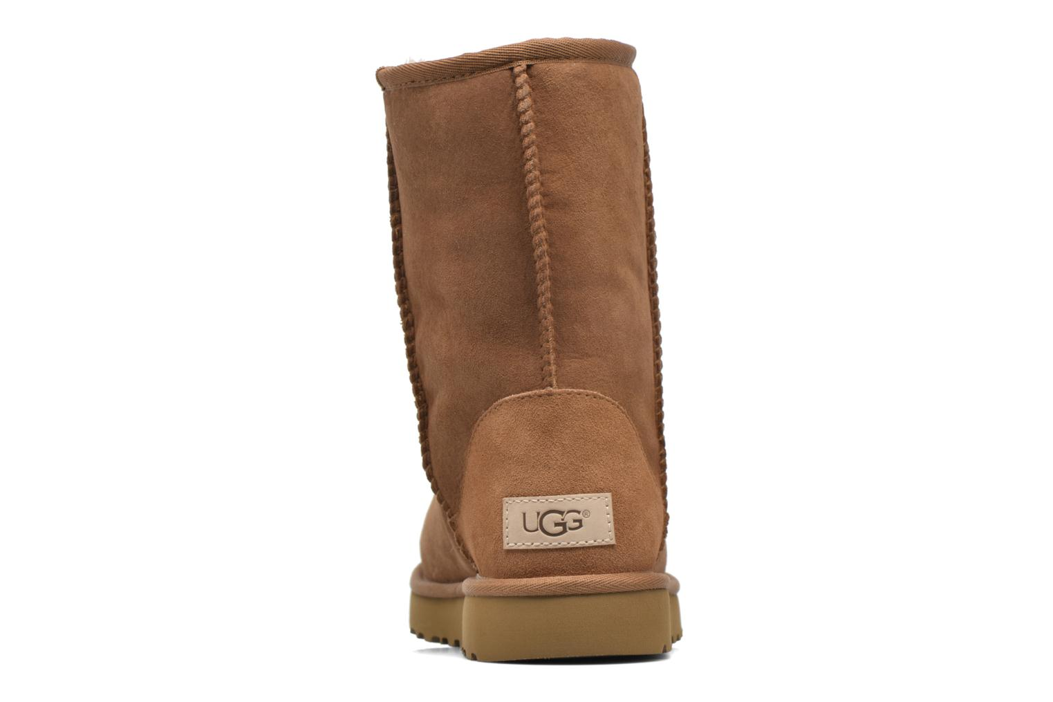 Ankle boots UGG W Classic Short II Brown view from the right