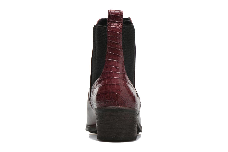 Boots en enkellaarsjes UGG W Keller Croco Rood rechts