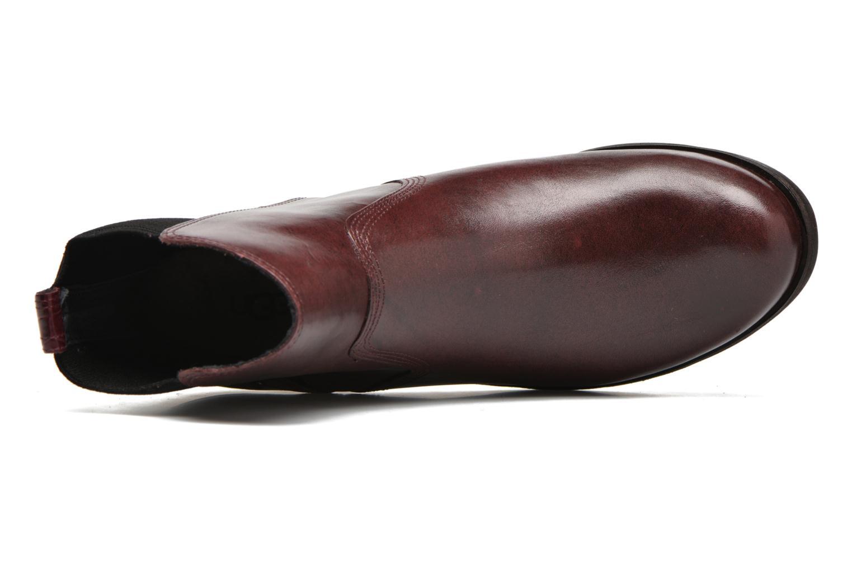 Boots en enkellaarsjes UGG W Keller Croco Rood links